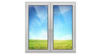 установка пластиковых окон в Северске двухстворчатое окно